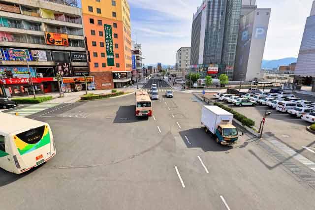 山形県駅前イメージ