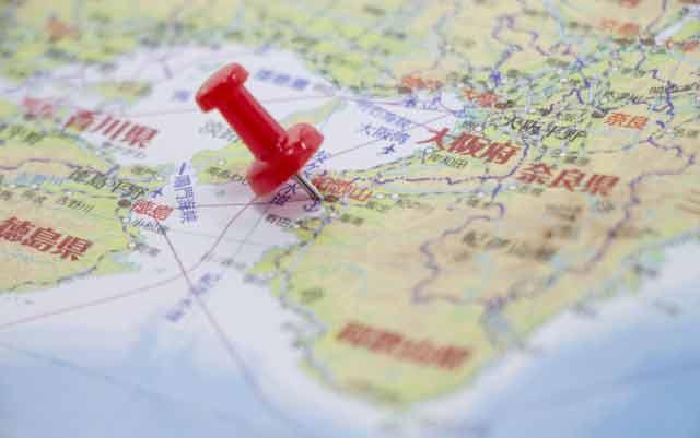 和歌山県地図イメージ