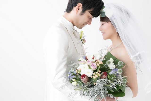 結婚式カップル